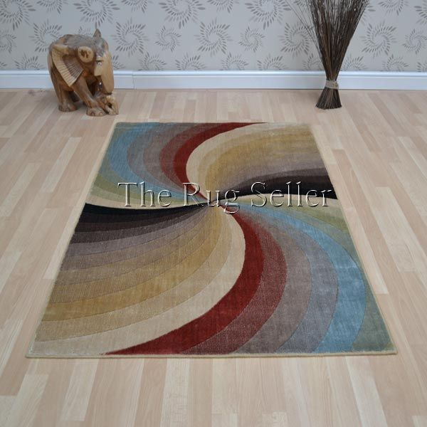 Mondrian rugs mon50 multi coloured by nourison buy online from the rug seller uk - Modern Rugs - Mondrian
