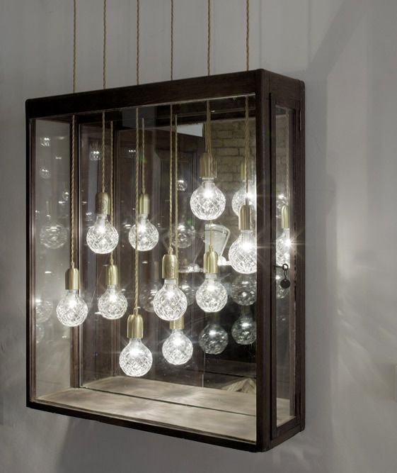 Lee Broom's Crystal Bulb available at Property Furniture. http://propertyfurniture.com/collection/lighting/crystal-bulb-pendant-lamp/