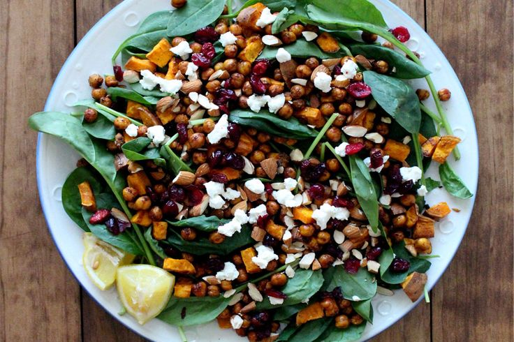Moroccan Roasted Chickpea Salad ‹ Hello Healthy