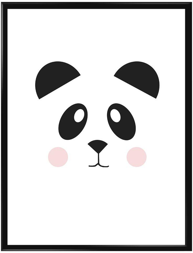 Denna affisch är så söt i barnens rum. Pandan, som är en kramgo björn och finns…