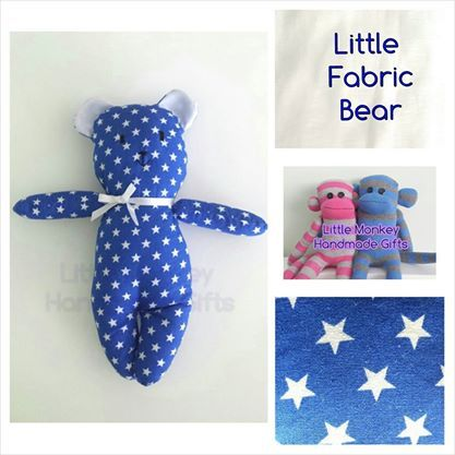 'Little Fabric Bear' Anything Goes Market Night opens at 9pm, on Tuesday 20th May, 2014