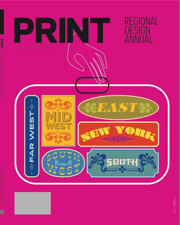 An alternate idea by Sean Adams' (AdamsMorioka) for the 2014 Regional Design Annual cover.