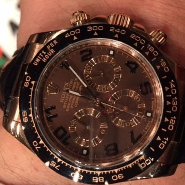 And in breaking Australian news.... A man who attempted to sell his Rolex Daytona (appears to be the 116515LN) through GUMTREE (.....) was dismayed when, after arranging to meet at a Doncaster cafe, the potential buyer asked to try it on and then ran https://timetogetone.myshopify.com/