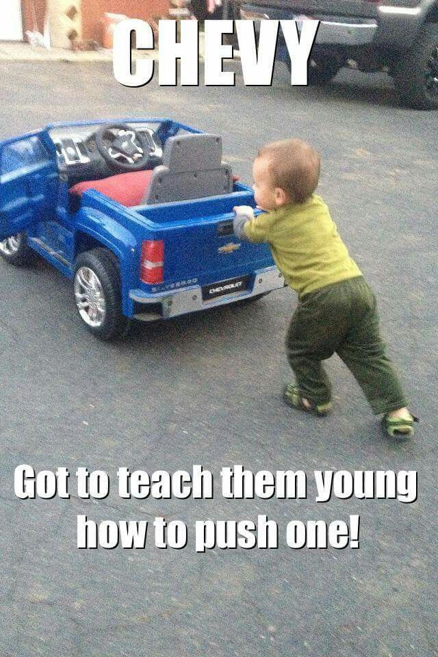 Sure do! Teach them right and they will drive ford's all their lives!