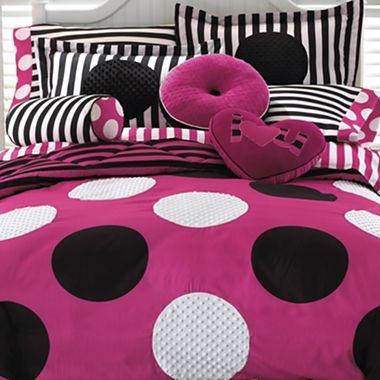 LittleMissMatched® Fabulous Dot Comforter Set & Accessories - jcpenney