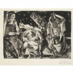 Pablo Picasso Etching US $75,000-95,000.
