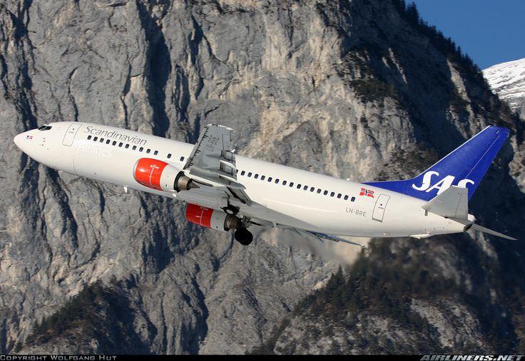Scandinavian Airlines - SAS LN-BRE Boeing 737-405