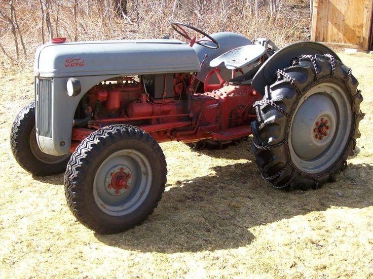 1948 Ford 9n Tractor : Ford n tractor traktorer pinterest