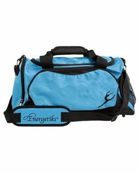 Energetiks large black turquoise dance bag