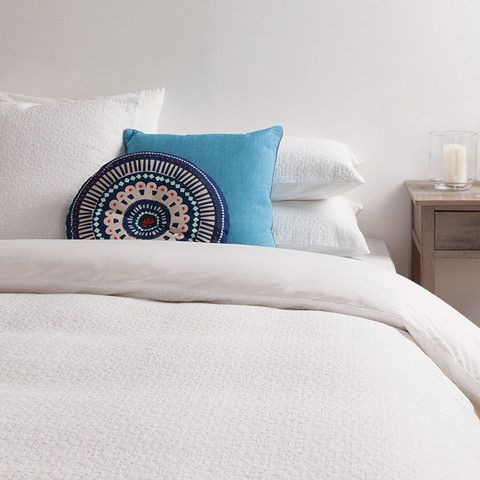 Azalea Woven Duvet Cover #cittadesign #homeware #bedroom