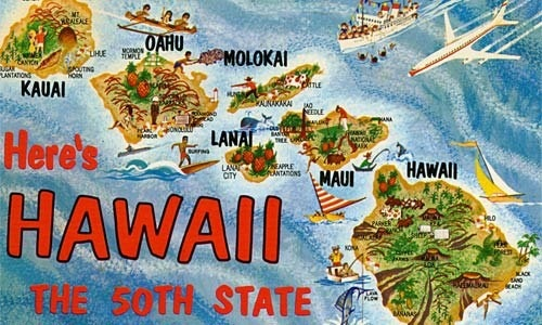March 18, 1874 - #Hawaii signed a treaty giving exclusive trading rights with the islands to the U.S. and then March 18, 1959 - U.S. President Eisenhower signed the Hawaii statehood bill.  Find out what else happened this day in #history http://on-this-day.com/onthisday/thedays/alldays/mar18.htm https://www.facebook.com/CenturyCorpMD #apartments
