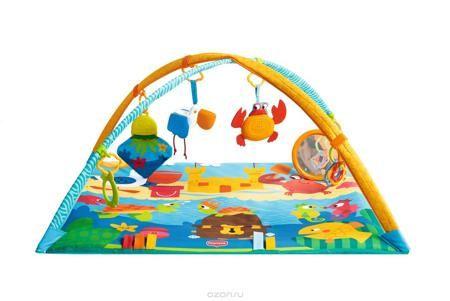 """Tiny Love Развивающий коврик Морские приключения  — 5999р. ----- Развивающий коврик Tiny Love """"Морские приключения"""" поможет развлечь и занять малыша в течение нескольких часов. Коврик легко раскладывается. Сверху крепятся большие дуги, на которые можно разместить подвесные игрушки и другие аксессуары. В 1-3 месяца малышу необходимо повесить игрушки в зону видимости, чтоб была возможность разглядывать и изучать разнообразные фигурки и цвета. С 3-6 месяцев ребенок начинает самостоятельно…"""