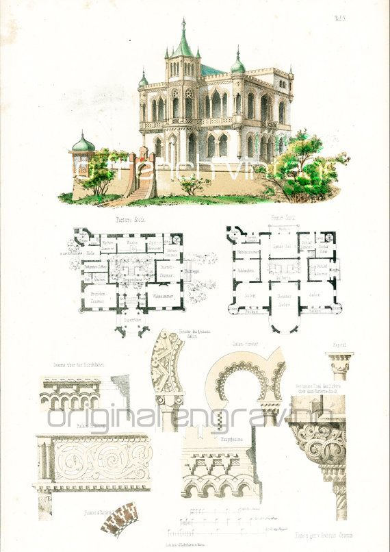 1000 ideas about castle house plans on pinterest unique for Print architectural plans