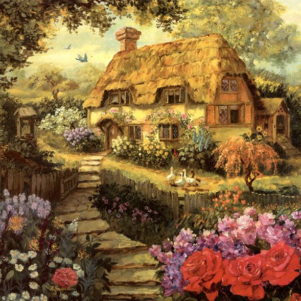 Goose Cottage By Robert Sauber