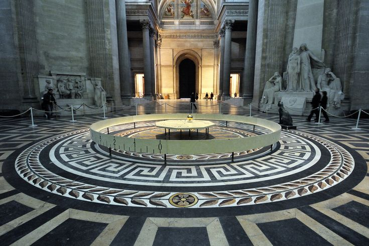 Foucault pendulum at Paris Pantheon