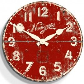 The Ice Cream Factory Wall Clock 50cm