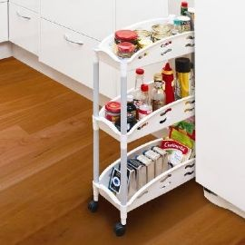 The BIG Storage Unit... For SMALL Places -Tier Compact Storage Caddy - #Magnamail