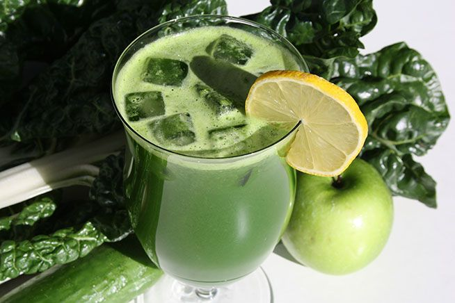 Mean Chard Juice Recipe Ingredients: 4 chard leaves & stems (silverbeet) 1 cucumber 1 lemon 1 apple 1 in/2.5 cm piece of ginger  Substitutions: Chard – kale, spinach, lettuce Cucumber  – zucchini, celery Lemon – lime, grapefruit Apple – pear, kiwi Ginger – mint