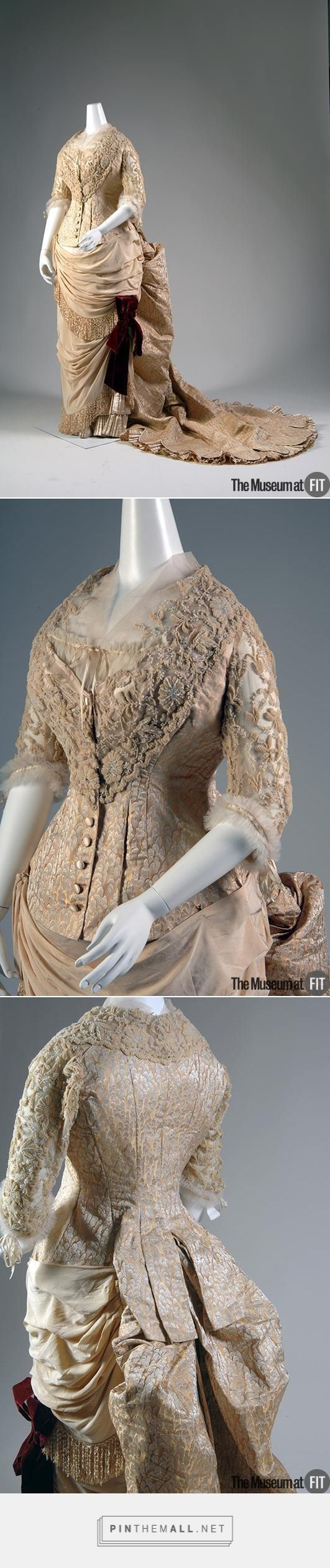 Evening dress (c. 1883, France) - FIT Museum