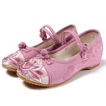 Chaussures De Sport Confortables Épissage Brodé De Mocassins Plats zZJ6bNLkZ