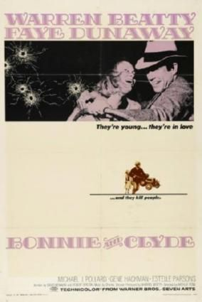 Bonnie And Clyde Movie Poster Standup 4inx6in
