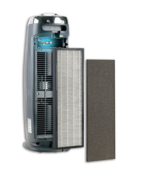 HEPA FILTER AIR PURIFIER Cleaning System UV-C Allergy Immunology Dust Mites New #GermGuardian