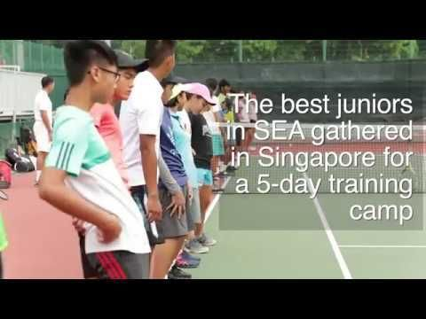 South East Asia (SEA) Tennis Junior Tennis Training Camp 2017 - WATCH VIDEO HERE -> http://singaporeonlinetop.info/sports/south-east-asia-sea-tennis-junior-tennis-training-camp-2017/     Over the course of five days from the 25 to 29 October, 41 U14 and U16 players from seven South East Asian countries gathered in Singapore for the South East Asia (SEA) Tennis Junior Tennis Training Camp 2017. SUBSCRIBE FOR...