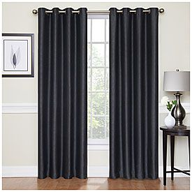 Better Homes And Gardens Diamond Jacquard Curtain Panel Lowe's Blackout Curtains