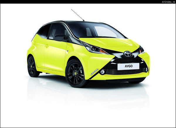 Toyota - Nuova AYGO x-cite Yellow Edition (69 CV)