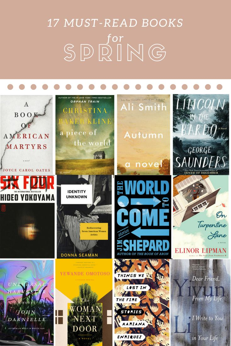Here Are The Best New Titles For Spring