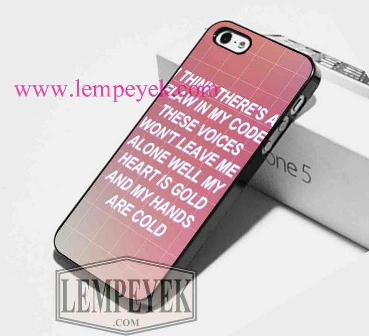 Halsey Gasoline Lyrics Phone case iPhone case, Samsung Galaxy case, HTC one…