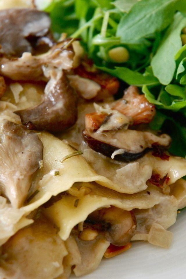 ... creamy mushroom sauce farfalle with pistachio cream sauce farfalle