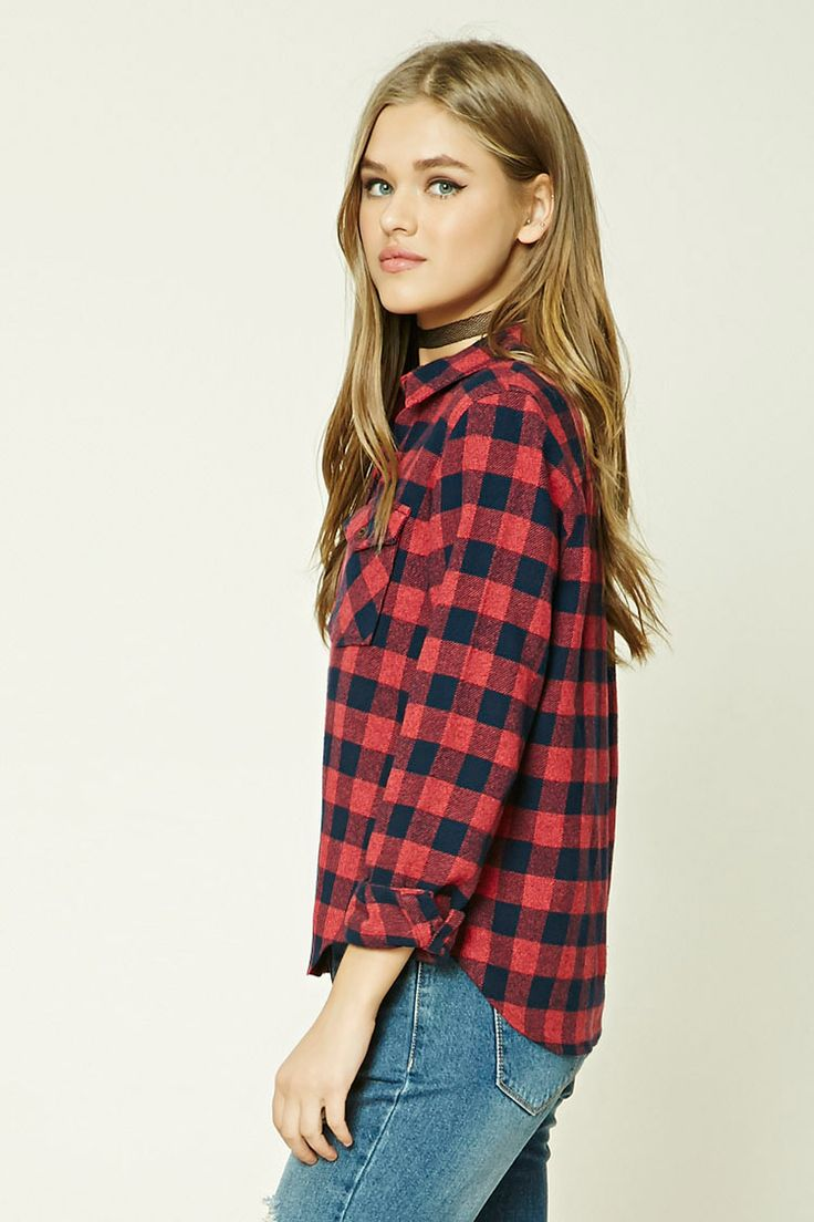 Fleece Plaid Shirt
