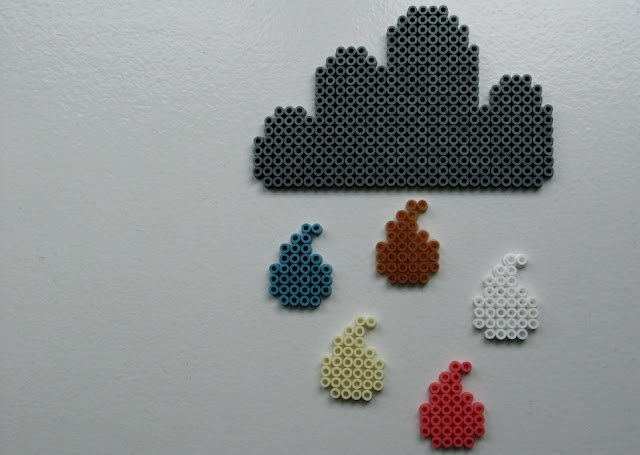 Made with HAMA beads here, but could easily be transformed to cross stitch