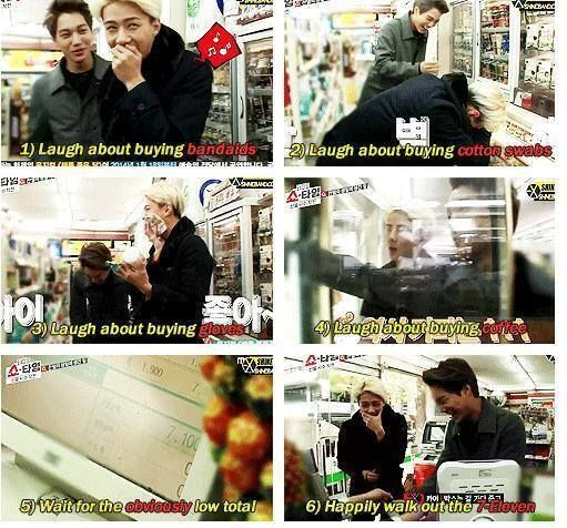 da two evil maknae xD . Where I can watch exo showtime ep3? because mbc band exo showtime eng sub , this is hard!! why!? just why!??