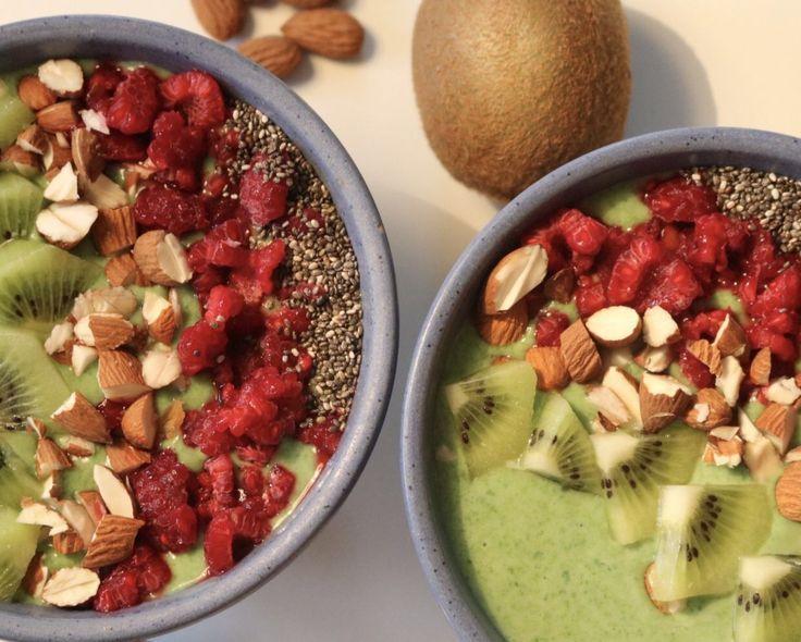 Grøn smoothie bowl