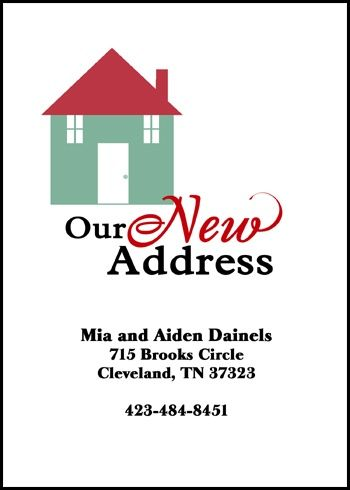 Best 25+ New address announcement ideas on Pinterest Moving - free change of address form online