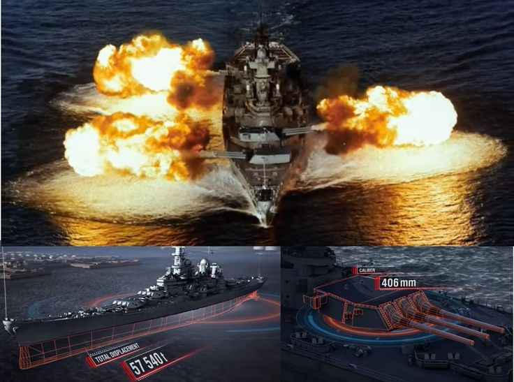 The mighty USS New Jersey, nicknamed 'Big J', is a Naval Legend: She is the most decorated battleship in Naval History