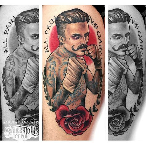 Roza - Realism, Neotraditional, Color & Portrait Tattoos - Sake Tattoo Crew