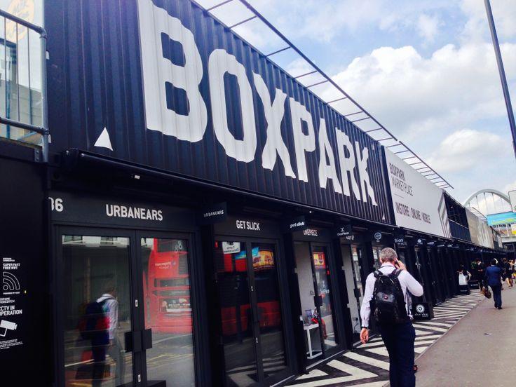 KINSA in London - Box Park Pop Up Stores, Shoreditch