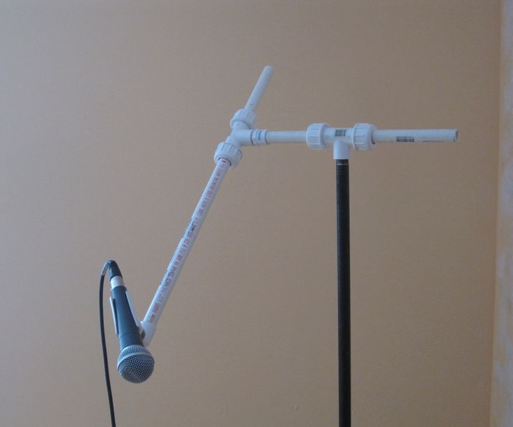 If you're here, it means you're trying to build your own mic stand. The collective wisdom of the internet will simply tell you to duct tape your mic to a broom and lean it up against a chair. DON'T LISTEN TO THEM. There's a million better ways to do this - here's mine.