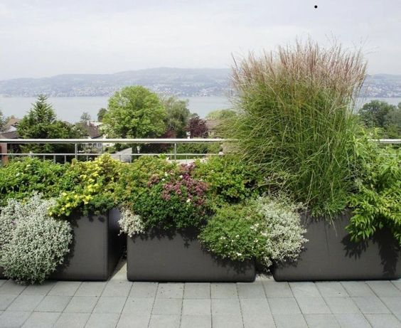 Sehr Gut Die besten 25+ Große pflanzkübel Ideen auf Pinterest | Blumenkübel  HC27