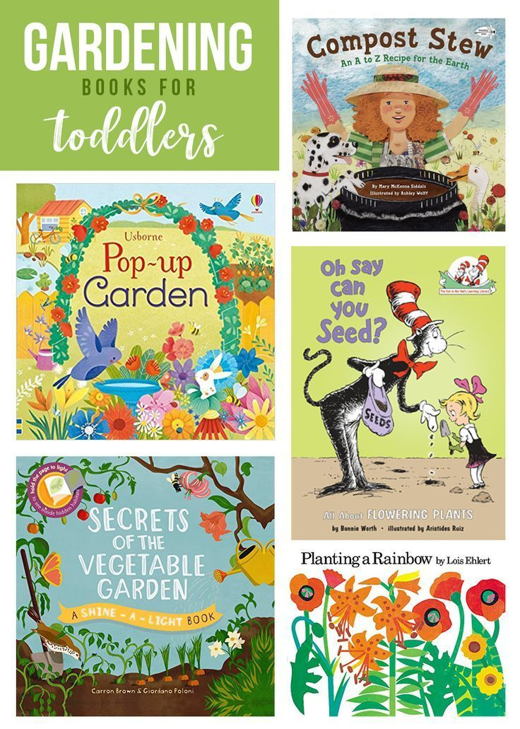 7 Must Read Gardening Books For Toddlers Toddler Books