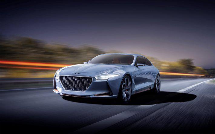 Hyundai Genesis Coupe, 2017, concepts, sports cars
