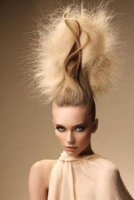 Gaillet Creative Personality Hairstyles - Hairstyles Trend ~ Where is this a trend exactly WhoVILLE????? LOOKS LIKE CINDYLOUWHO TO ME!?!?!?! I HOPE THIS NEVER TRENDS IN AMERICA I'LL BE OUT FOR SURE LOL!