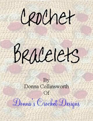 Crochet Bracelets༺✿ƬⱤღ http://www.pinterest.com/teretegui/✿༻