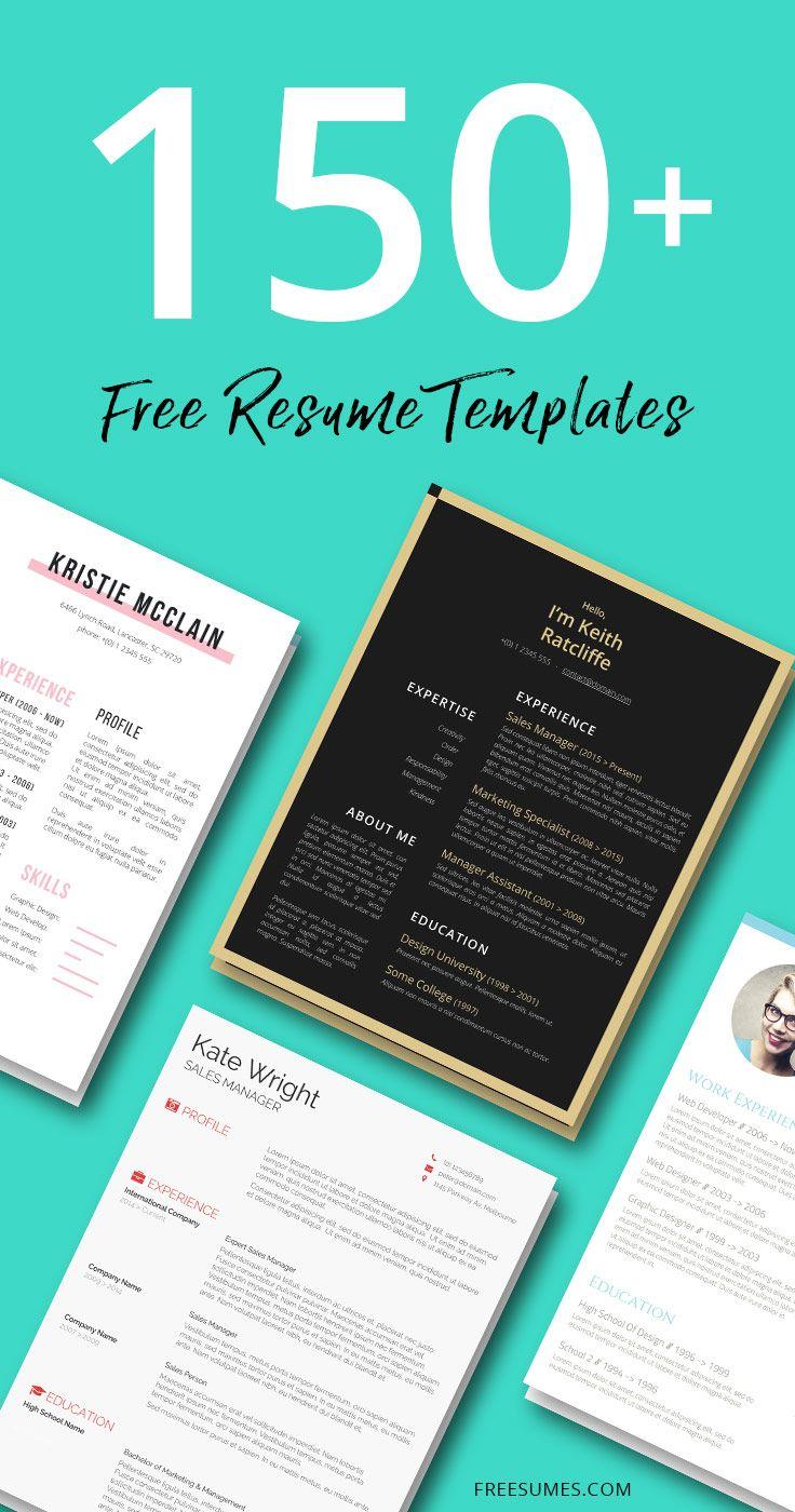 160 Free Resume Templates Instant Download Freesumes Resume Template Free Free Resume Template Download Graphic Design Resume