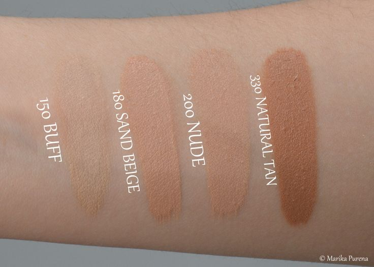 Revlon Colorstay Foundation Swatches for Normal_Dry skin