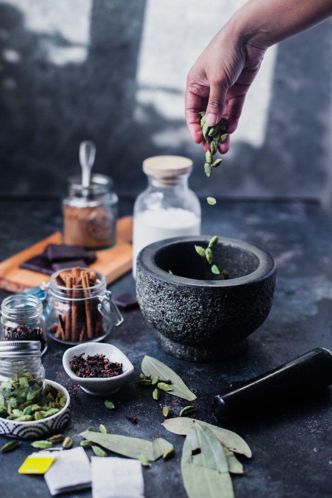 Chai Spiced Hot Chocolate