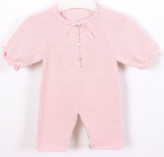 Knitting Patterns For Baby Jumpsuits : 150 best images about Baby Girl - Onesies & Rompers on Pinterest Baby p...